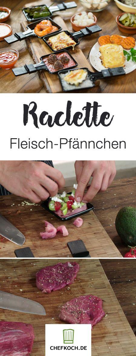 Raclette: neue Ideen und Rezepte für Weihnachten | Chefkoch.de Video #racletteideen
