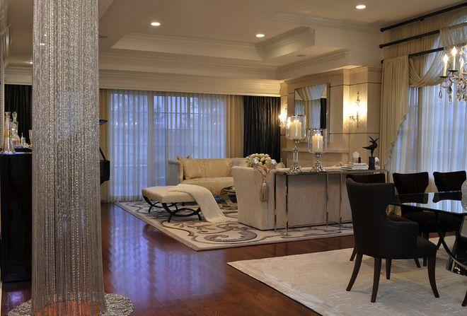 How To Combine Area Rugs In An Open Floor Plan Living Room