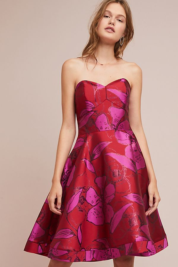 Shoshanna Jacquard Sweetheart Dress #ad #AnthroFave # ...