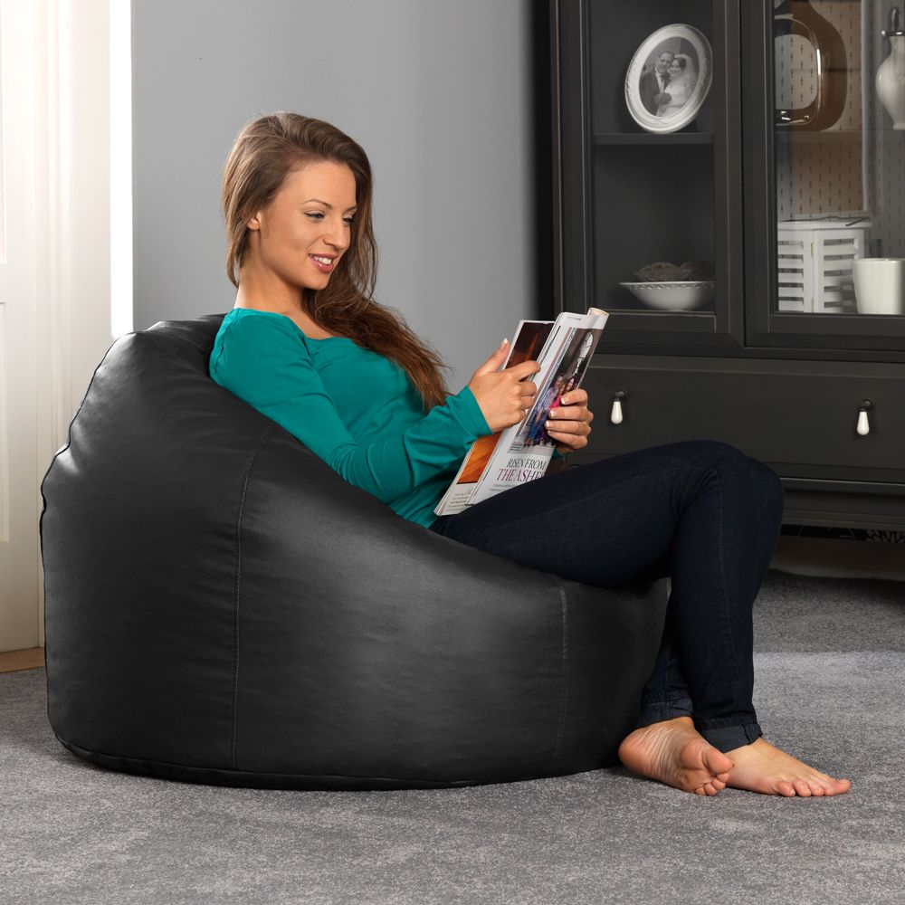 Extra Large Faux Leather Bean Bags Bag Chairs