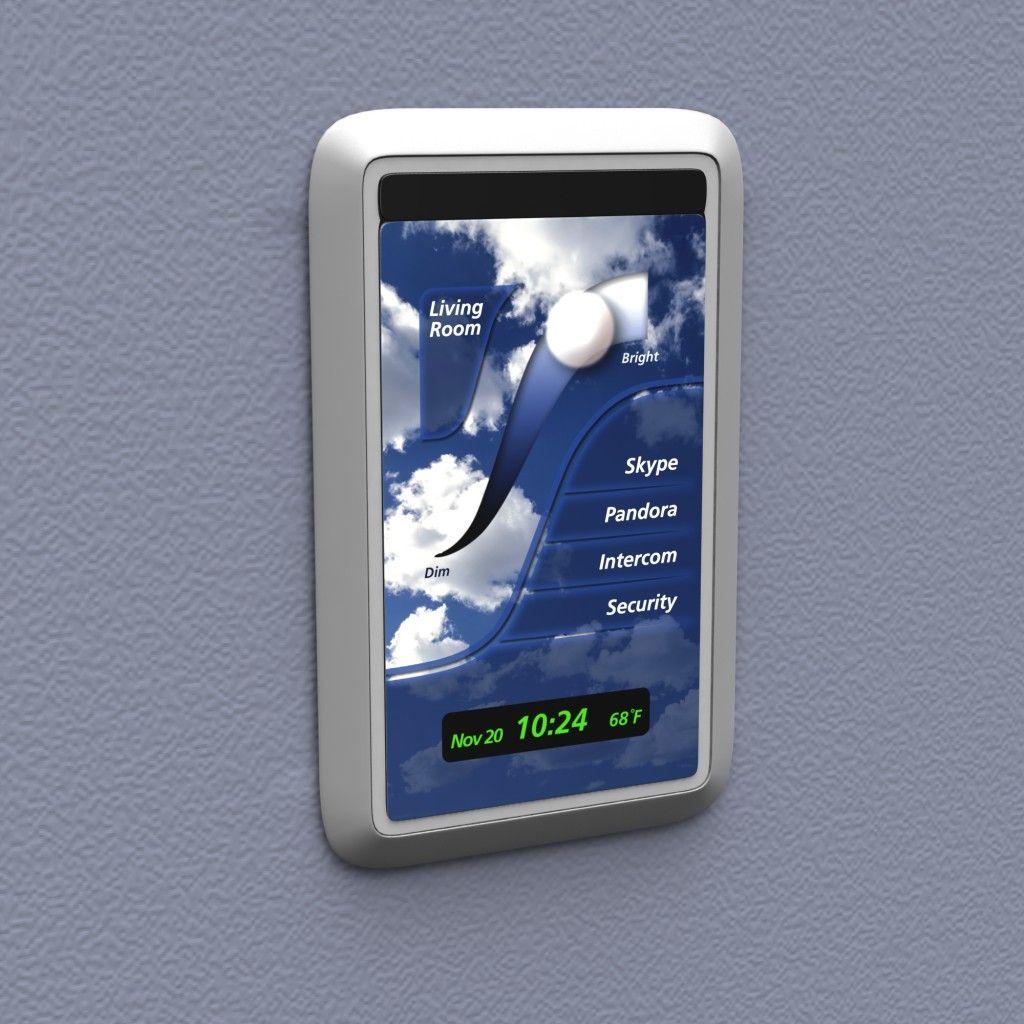 bright switch touchscreen schalter mit android die etwas andere art der lichtsteuerung