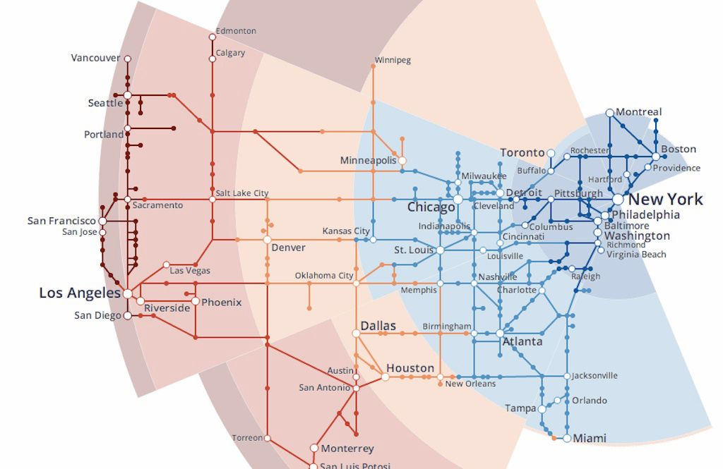hyperloop map Pinterest