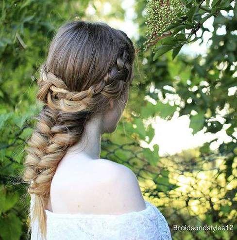 medium length hair updos easy braids medium length hair