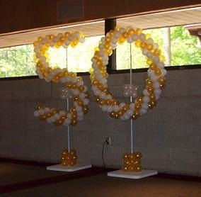 50 wedding anniversary decoration ideas 50th wedding anniversary ideas atlanta balloon 1128