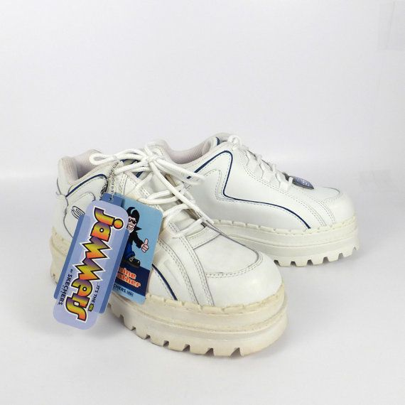 677a61847cef Skechers Platform Sneakers Vintage 1990s Jammers men s size 6 ...