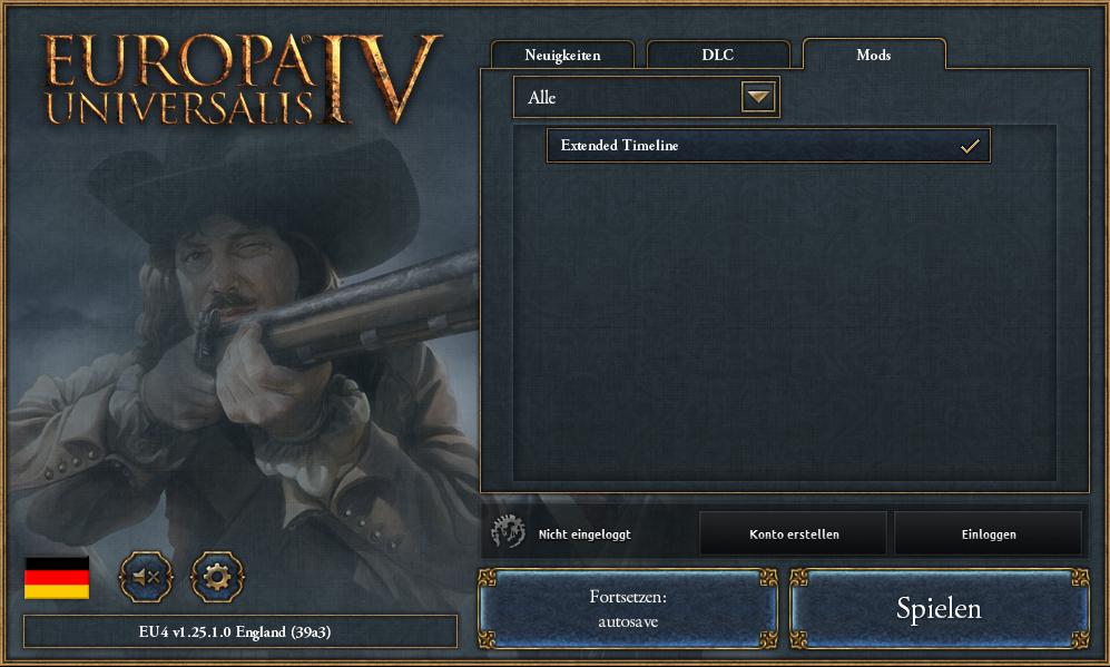 Wie installiere ich eine Mod für Europa Universalis 4? Die