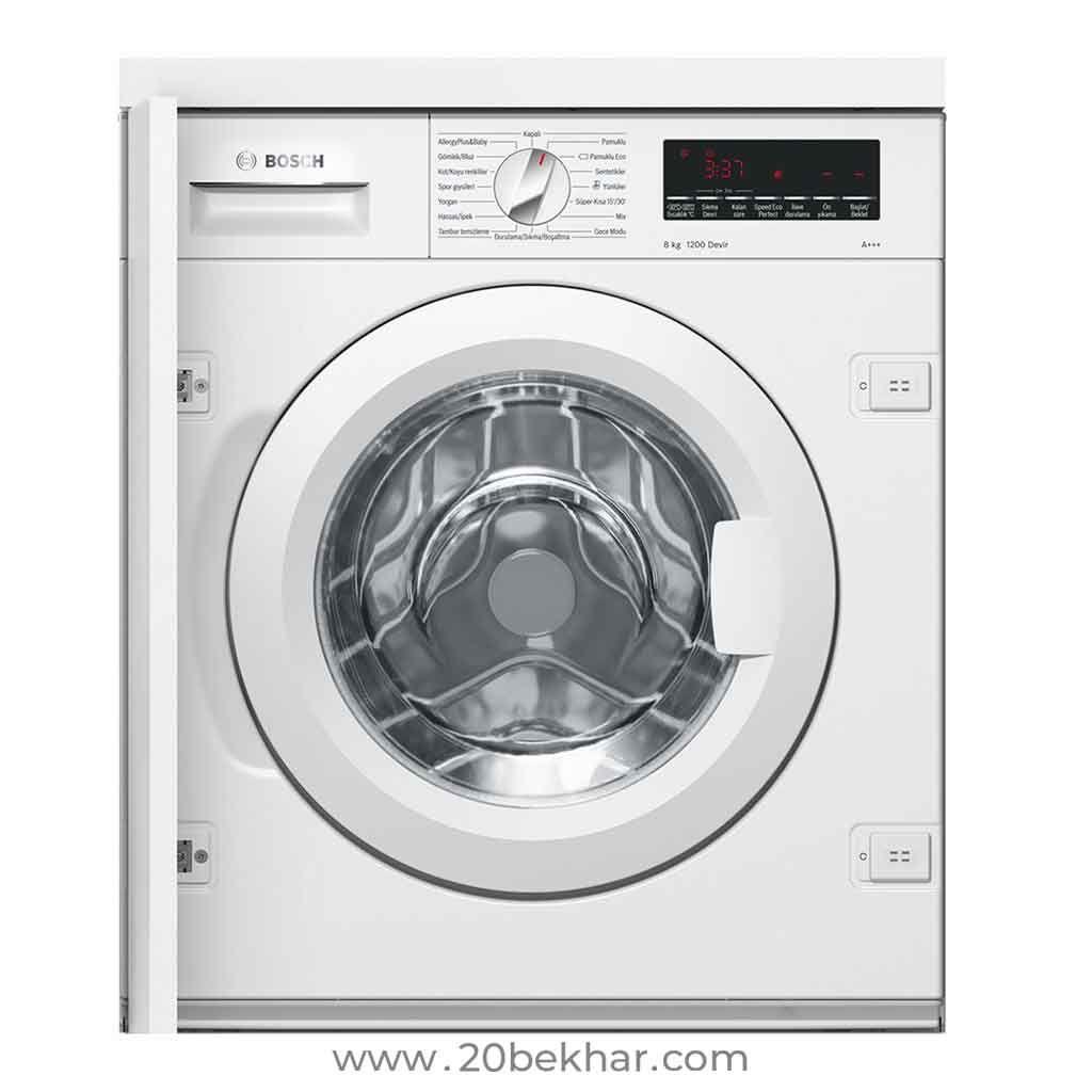 Bosch Built In Washing Machine Series 8 Wiw24560ir 8kg Integrated Washing Machines Bosch Washing Machine Washing Machine