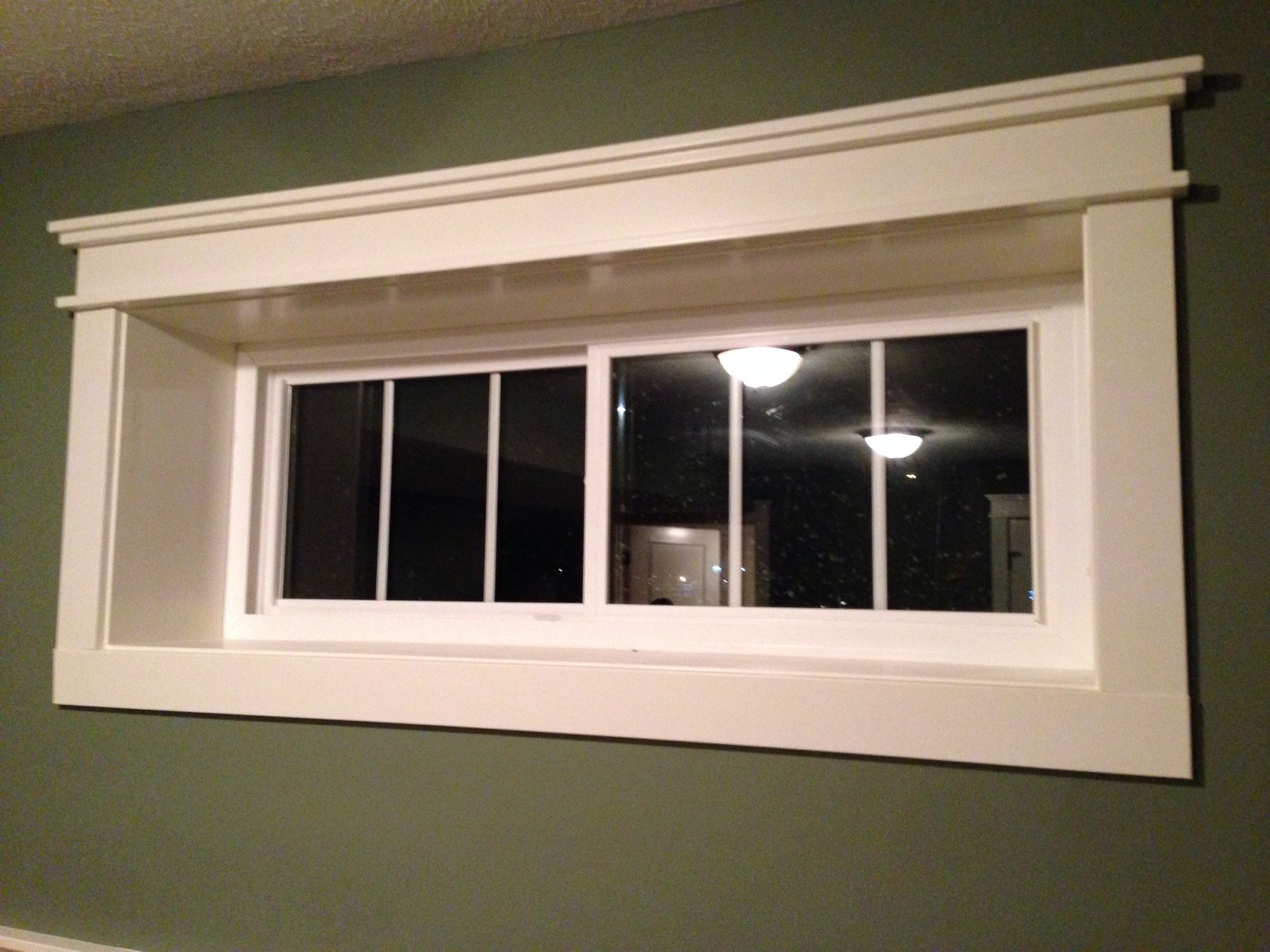 Quality window trim brouwers r building in 2019 - Craftsman style window trim interior ...