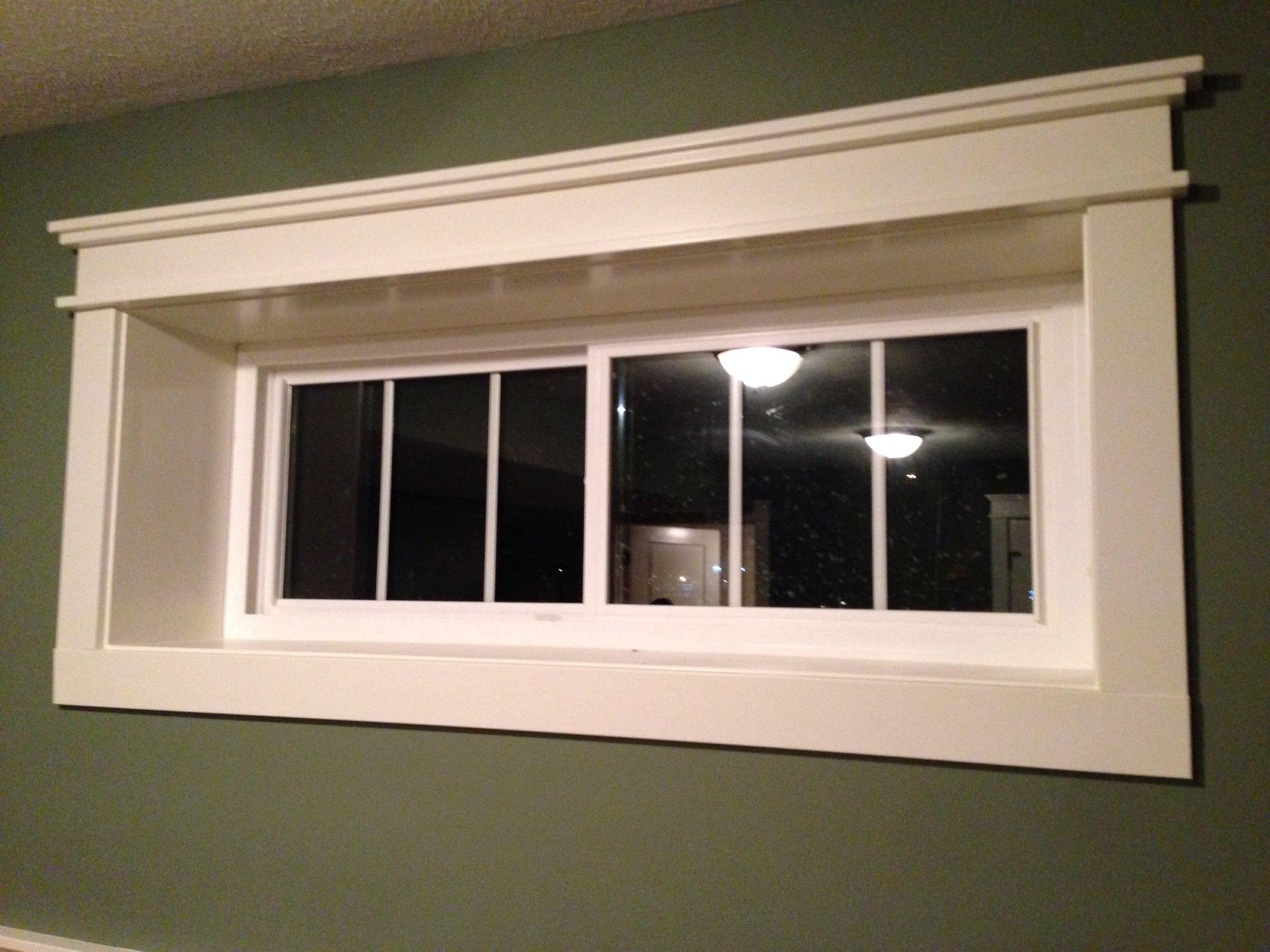 Basement Window Trim & Ideas Of