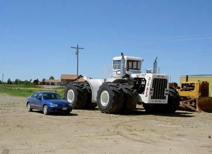 Big Bud 747 >> Big Bud 747 Fwd Big Bud Big Trucks Tractors Monster Trucks