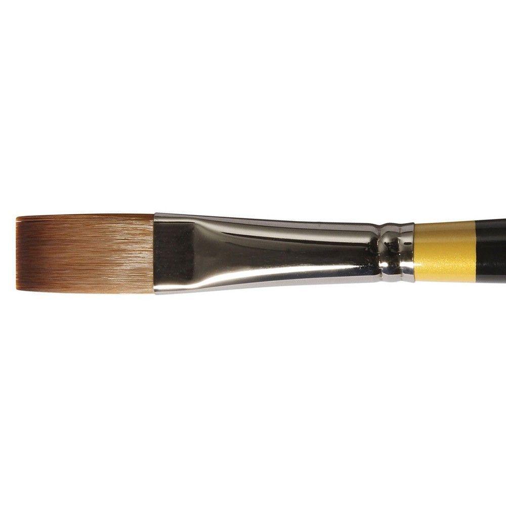 Daler-Rowney System 3 Acrylic Brush LH Flat SY44 - 10
