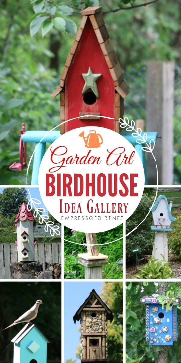 If you love decorative birdhouses come explore this gallery to grab ideas for your garden also birdhouse idea backyard bird rh pinterest