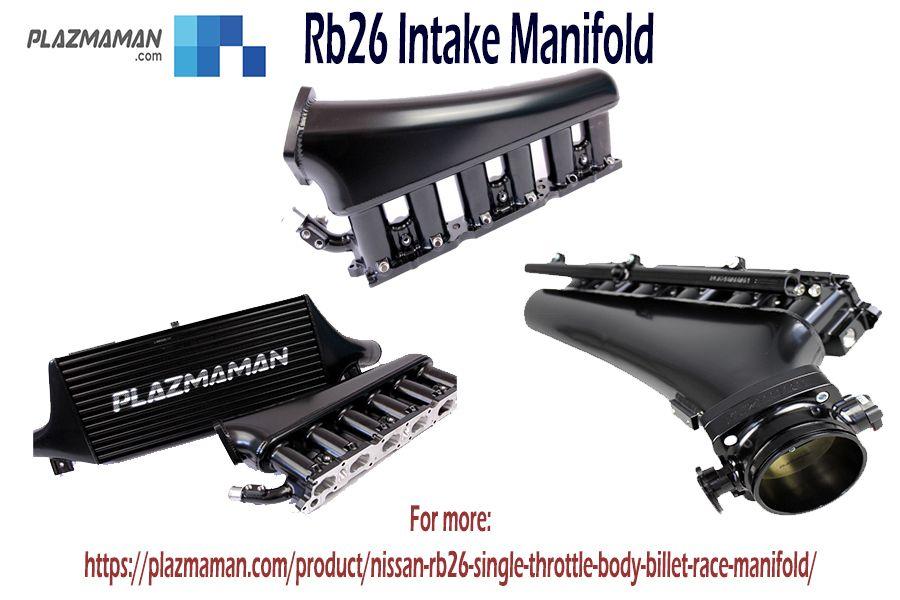 Rb26 Gtr Inlet Manifold Full Billet Runner 6 Injector Style