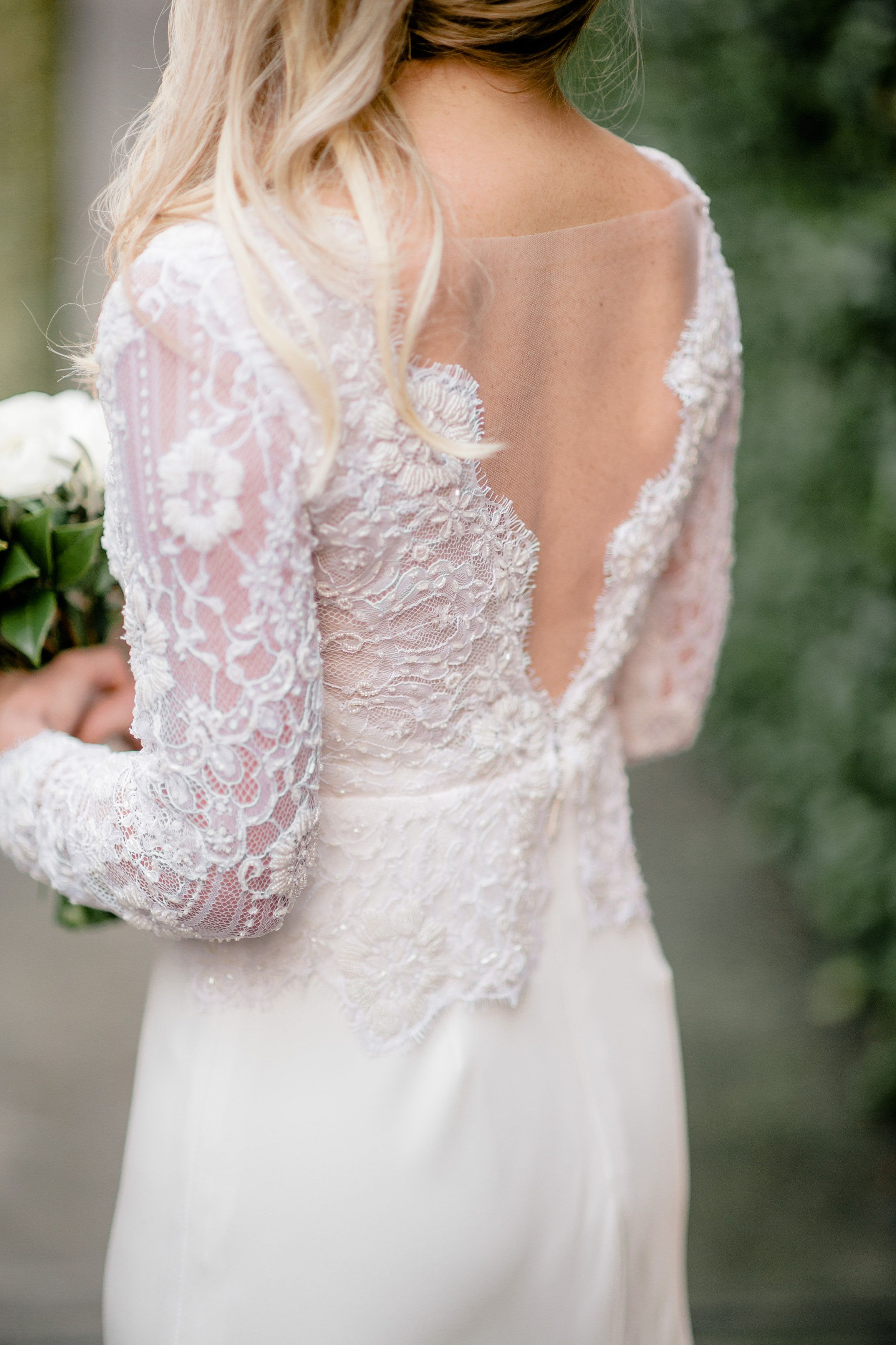 Custom Kate McDonald Bridal Gown // Brandon Lata Photography | Real ...