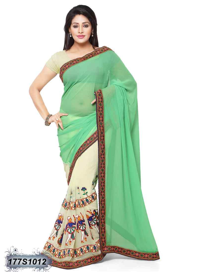Saree for freshers party in college pin by leemboodi fashionethnic wear on simple embroidery sarees