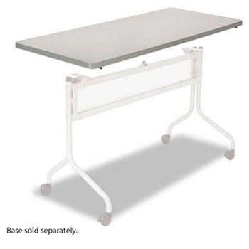 Impromptu Series Mobile Training Table Top, Rectangular, 48w X 24d, Gray