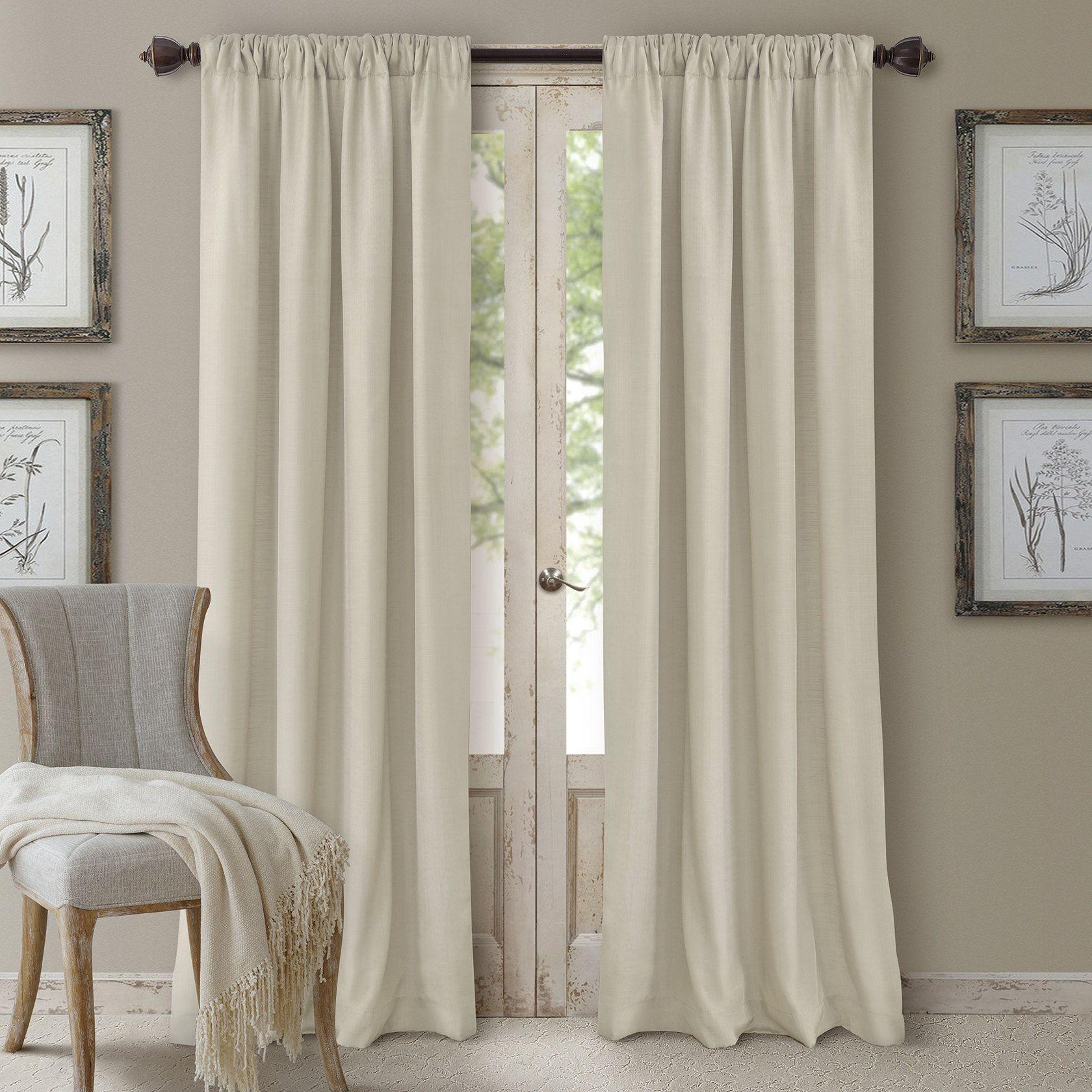 Huntington Single Curtain Panel