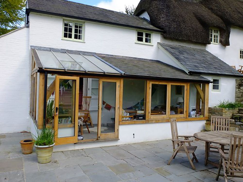 Lean To Conservatory Briantspuddle Dorset Sunroom