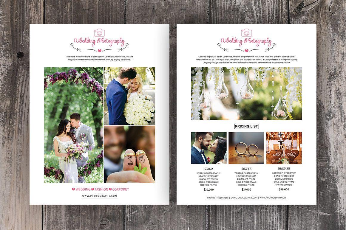 Photography Price List Template Wedding Photography Pricing Etsy In 2020 Photography Price List Template Photography Price List Wedding Photography Pricing Guide Wedding photography pricing template free