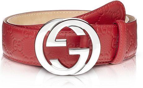 Red Gucci Belt Men  f5437a0b7afc