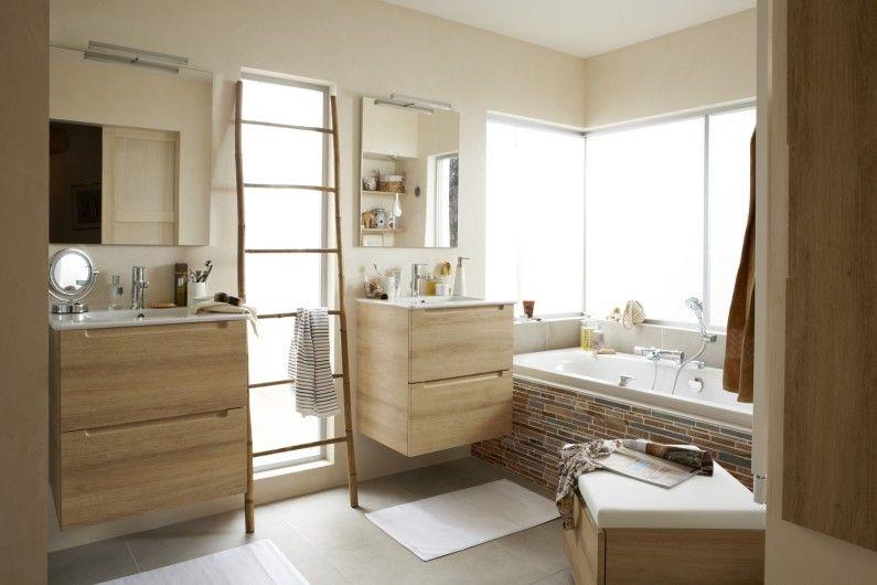 Salle de bains Blanc / Beige / Naturel IDEAL STANDARD Naturel ...