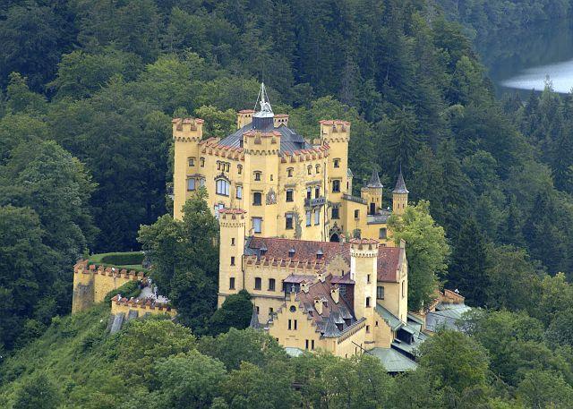 Hohenschwangau Bavaria Germany Deutschland Burgen Neuschwanstein Orte Zum Besuchen