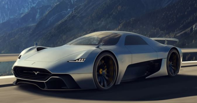 Tesla Model H Electric Supercar Rendered W Video Super Cars Tesla Roadster Expensive Cars