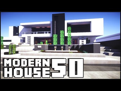 Minecraft Modern Island House YouTube Minecraft Pinterest