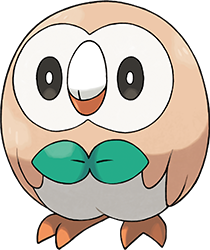 Pokemon Sun Moon Starter Rowlet Dessin Pokemon