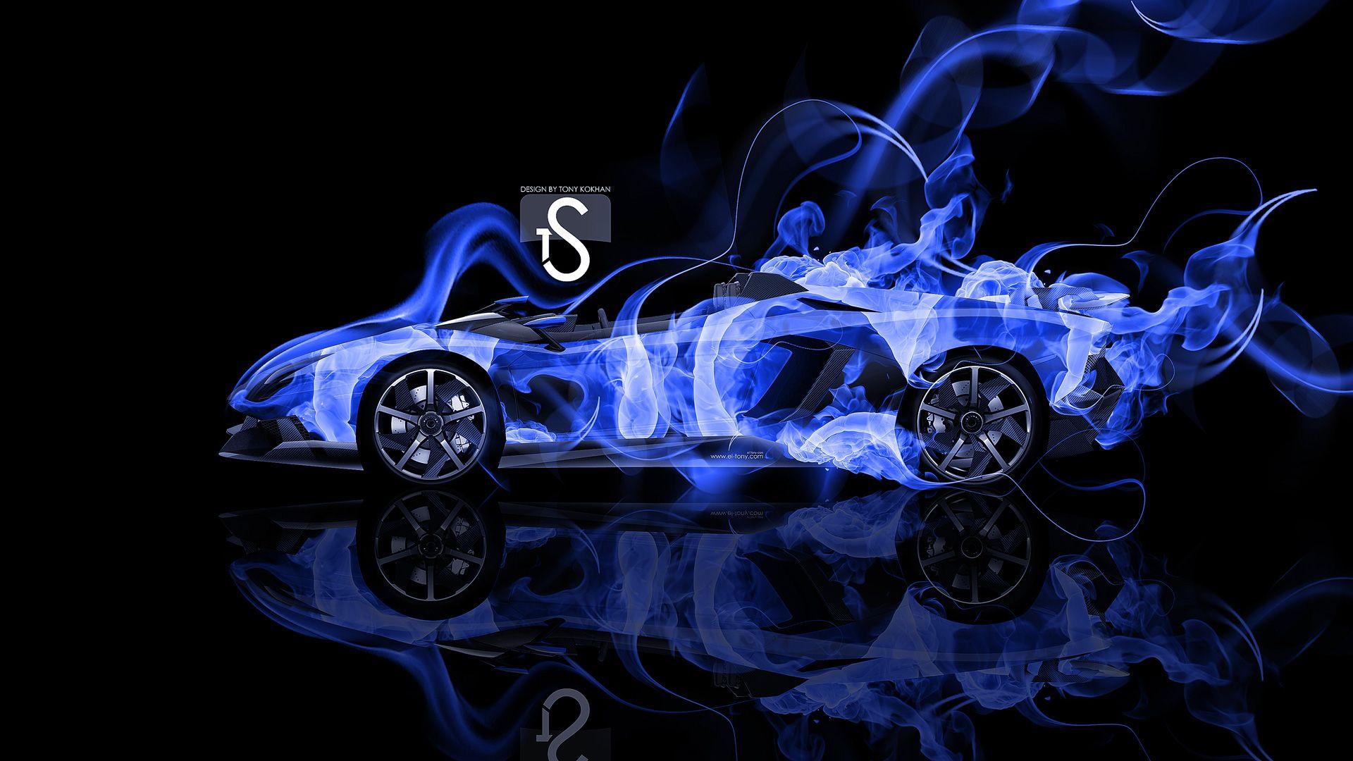 Lamborghini Murcielago Super Abstract Car El Tony Design