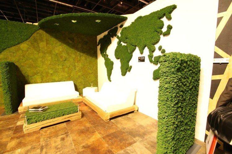 Grüne Deko für eine freundliche Wohnzimmer-Gestaltung   DIY und ...