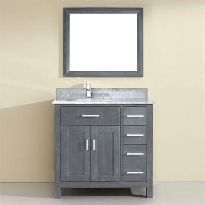 Shop Cutler Kitchen U0026 Bath Cutler Kitchen U0026 Bath URB Urban Collection  Single Bowl Vanity With