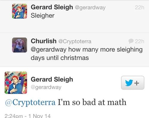 How Many More Days Til Christmas.How Many Days Til Christmas Gerard Way Gerard Way And
