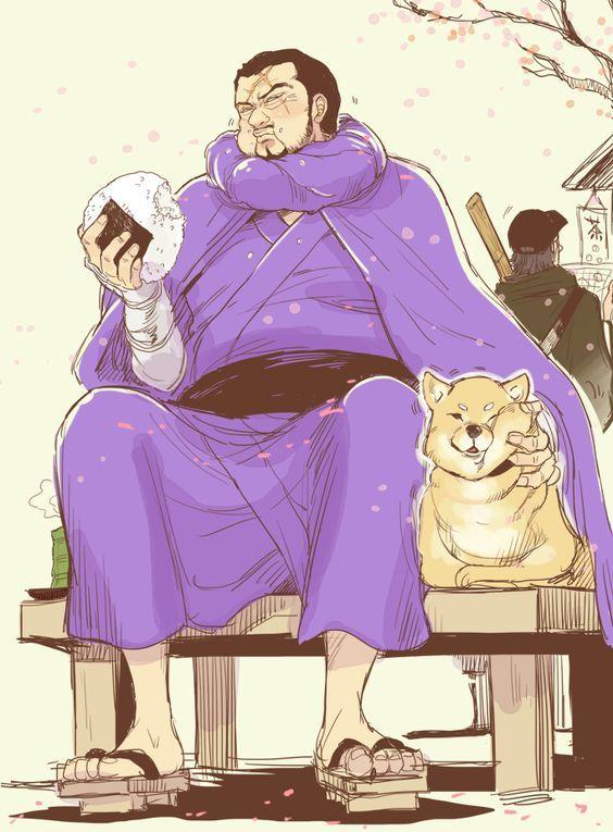 One Piece, Fujitora, Issho | Иллюстрации, Большой куш, Каваи