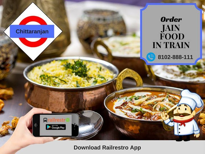 Order Jain Food In Trains If You Are Traveling In Ecr Zone With Irctc Official Catering Partner At Railrestro Com Special Offers U With Images Jain Recipes Food Catering
