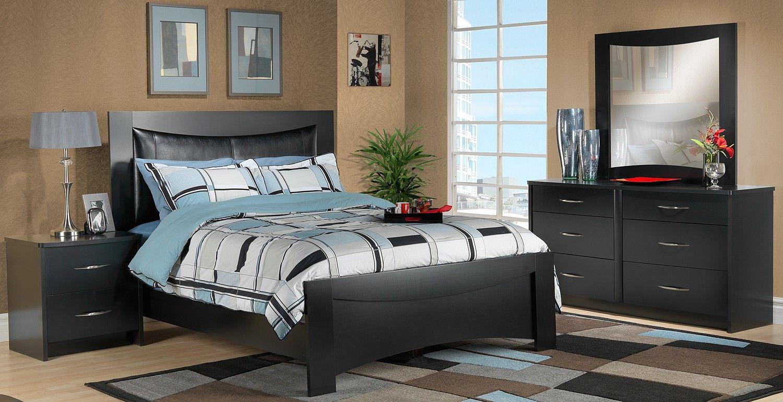 Best Pacifica Bedroom 5 Pc Queen Bedroom Set Leon S 400 x 300