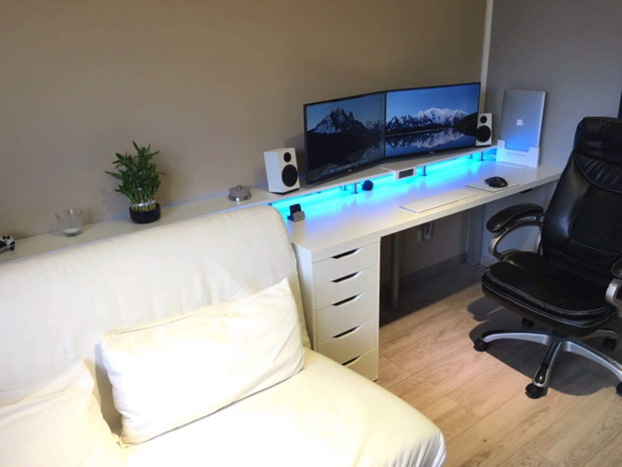 Gaming Desks Bedroom Setup Computer