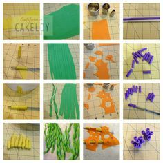Beach Tutorial for making extras for a Beach or ocean themed cake [[from The CakeLdy]] - For all your cake decorating supplies, please visit craftcompany.co.uk