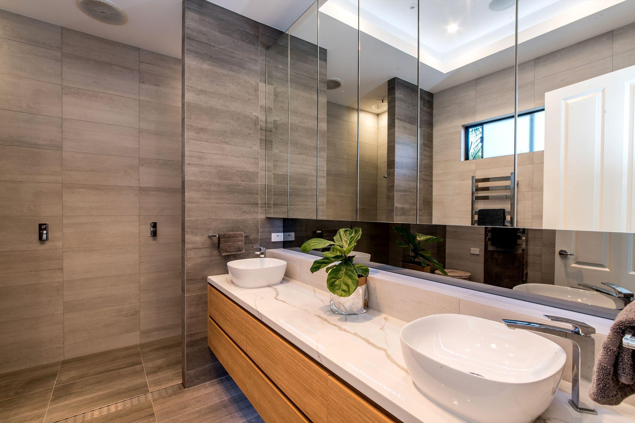 A #bathroom retreat #bathroomdesign #bathroomtiles ...