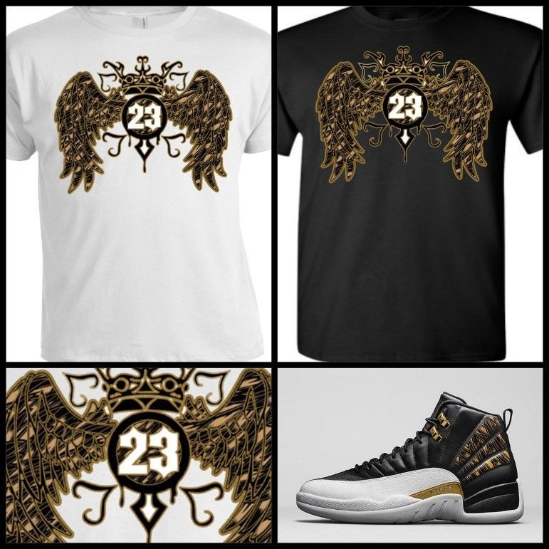 209e1e23 EXCLUSIVE TEE SHIRT to match AIR JORDAN 12 RETRO WINGS OR ANY JORDANS!  #COPEMCUSTOMS #GraphicTee