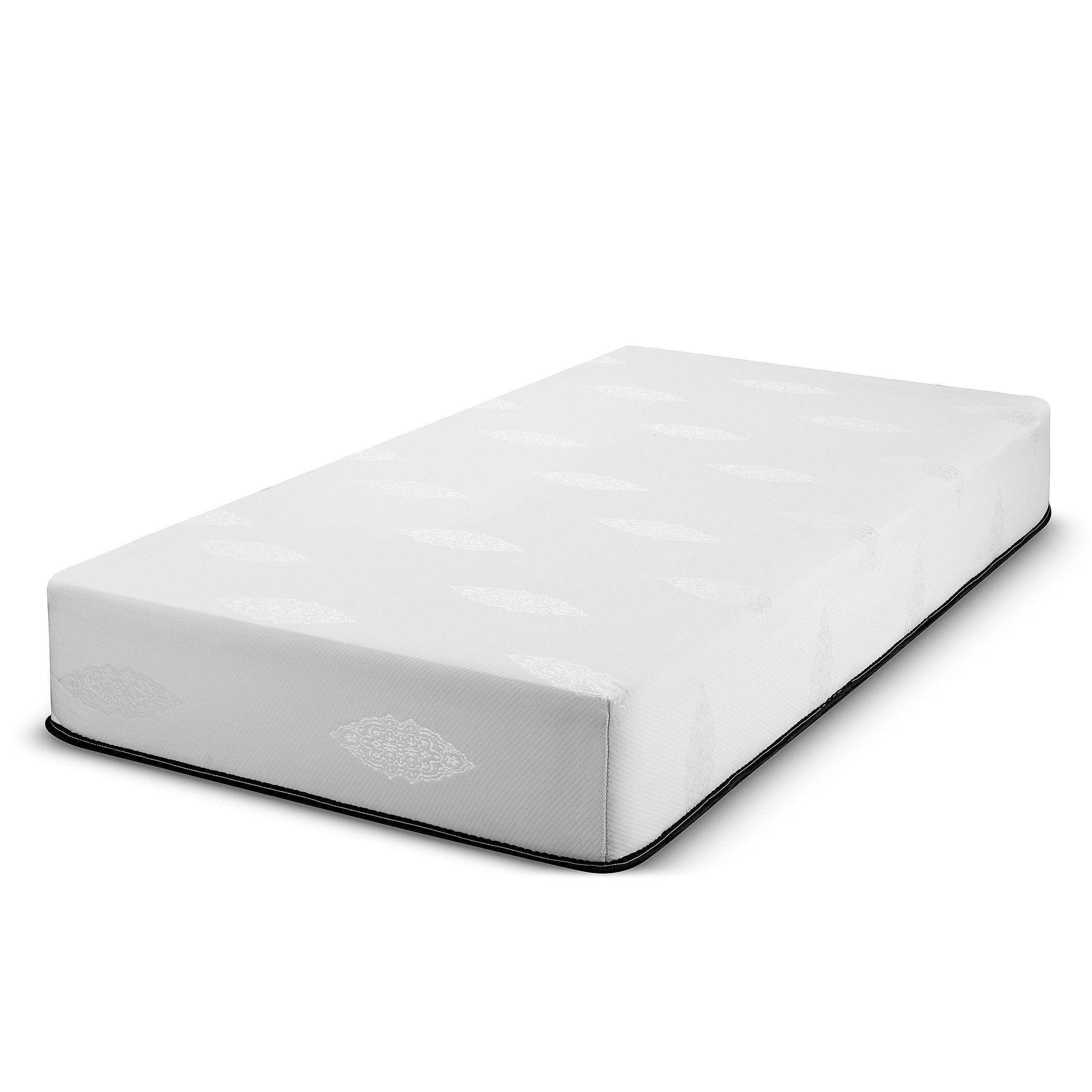 Fortnight Bedding 10 inch Twin Memory Gel Infused Foam