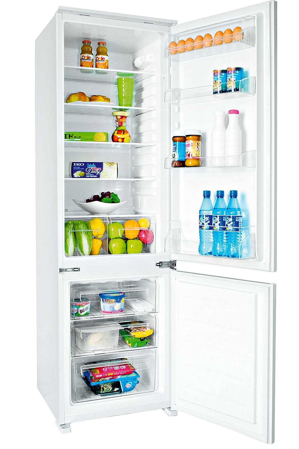 Uncategorized Kitchen Appliances Ireland hisense 275l 7030 integrated fridge freezer from harvey norman appliances