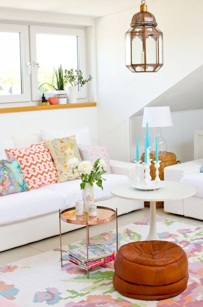 Schönes helles aber farbenfrohes Wohnzimmer Wohnzimmer - schöne bilder für wohnzimmer