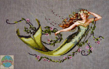 Mirabilia - Emerald Mermaid - Cross Stitch World