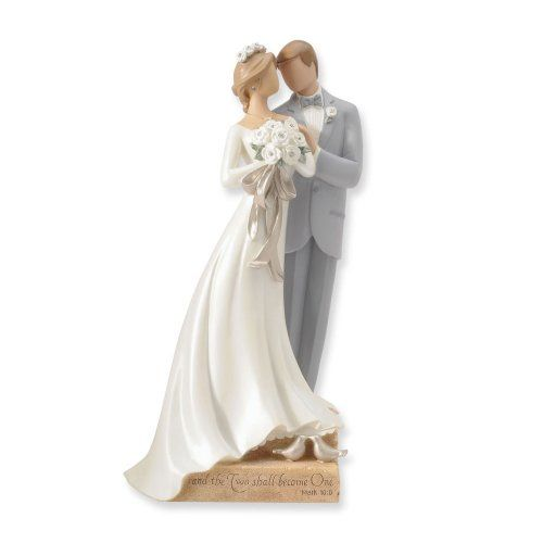 Wedding Couple Bride And Groom Figurines Wedding Cake Topper Figurines Bride And Groom Cake Toppers Interracial Wedding Cake Toppers