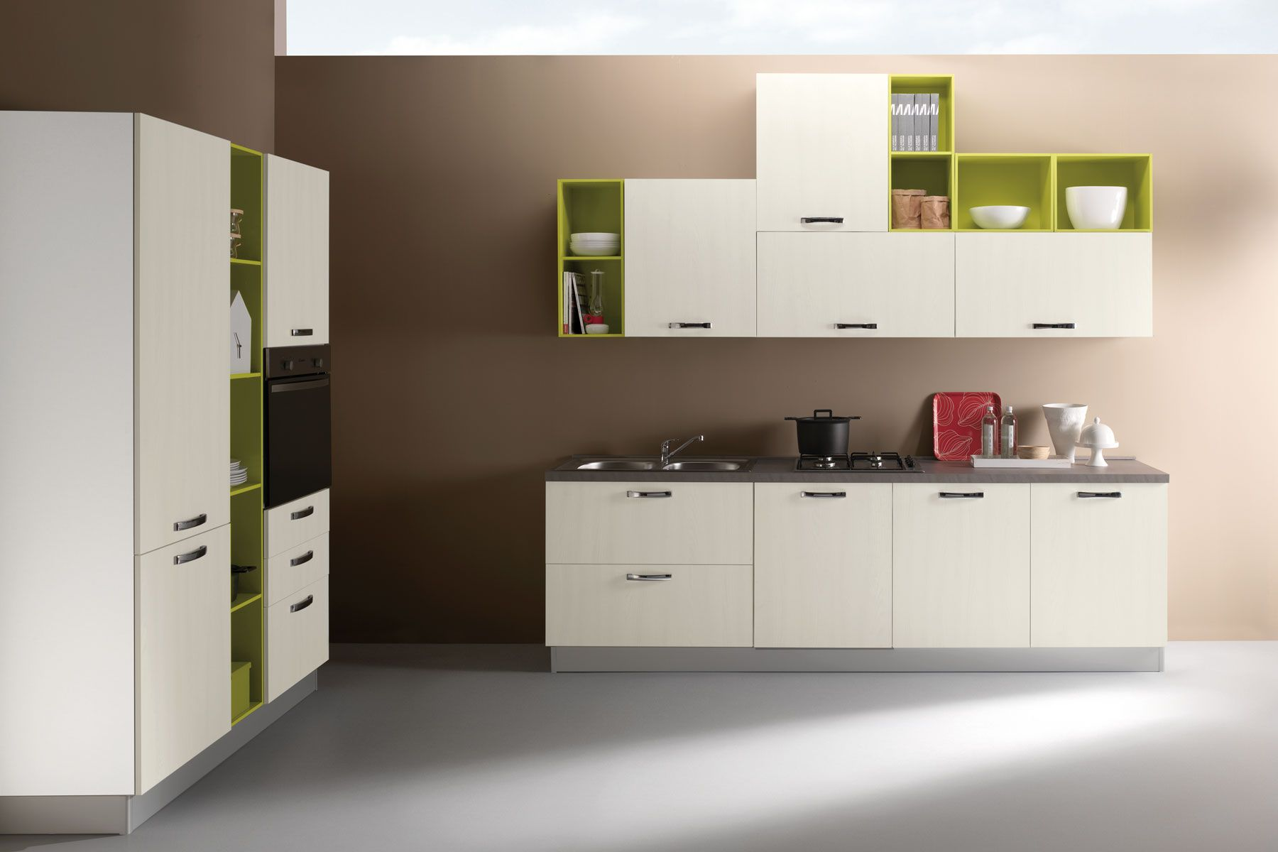 Cucine moderne cucine classiche cucine low cost made in for Arredamenti low cost