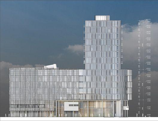 Engel & Völkers' New Headquarters,Elevation
