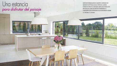 Cocina amueblada con el diseño LINE-E de Santos