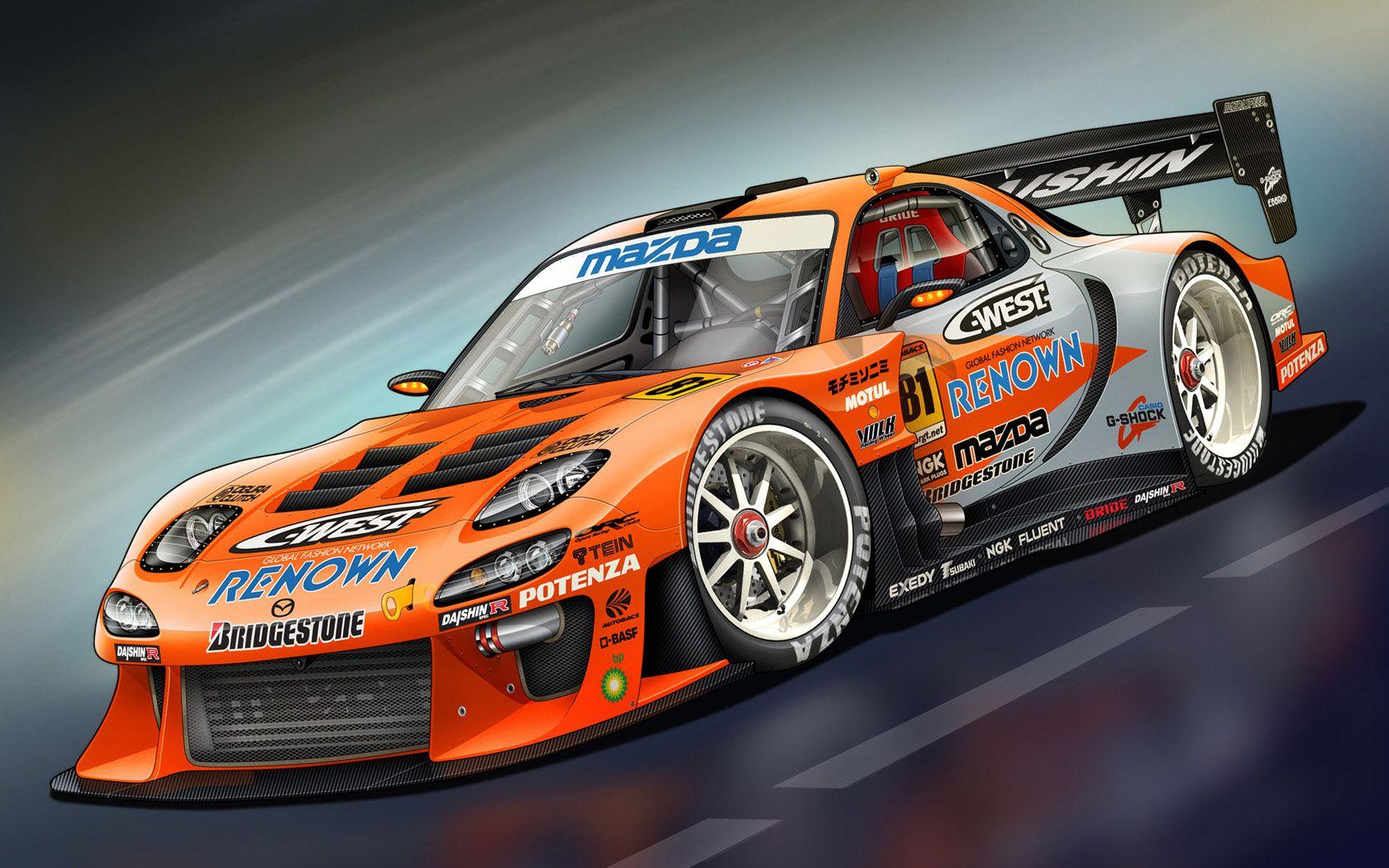 Fd Rx7 Best Racing Cars Sports Car Sports Car Wallpaper
