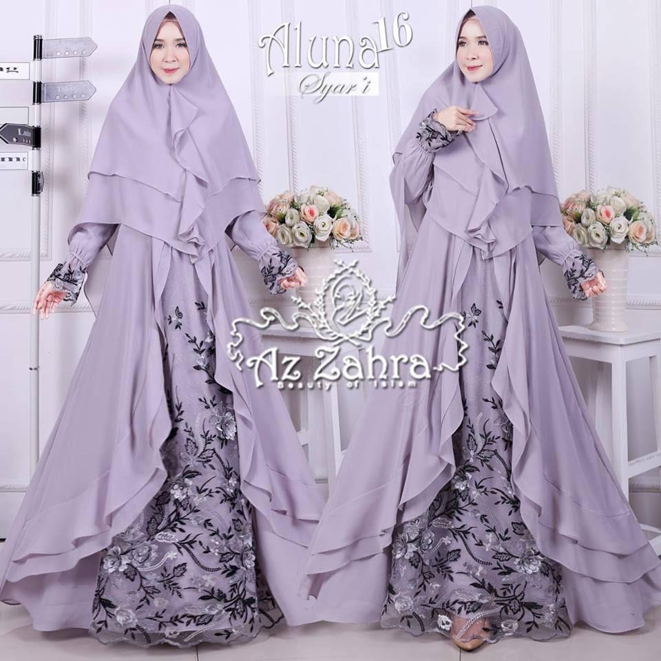 Aluna Syari vol 8 by Az Zahra  Pakaian wanita, Model pakaian